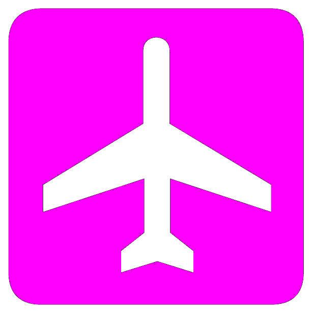 Pictogramm Flughafen