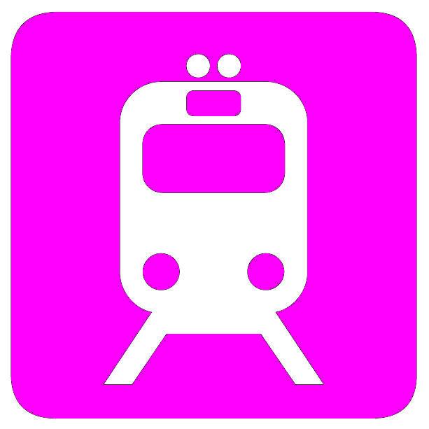 Pictogramm Bahn